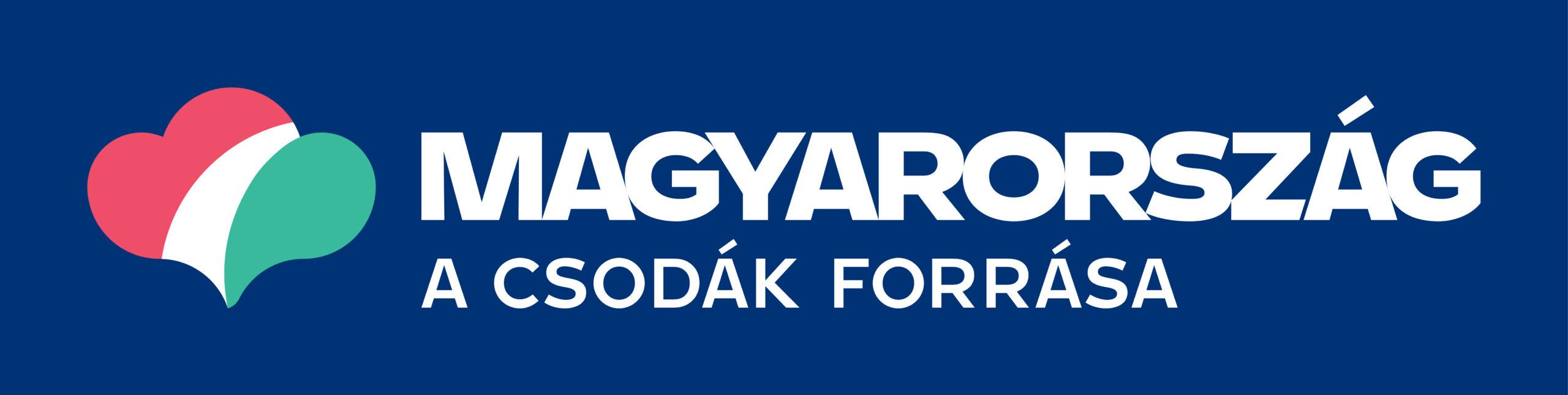 magyarorszag logo with slogan color invers